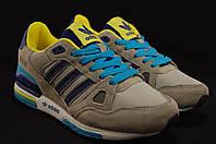 Adidas ZX750 яркие кроссовки натуральный замш+ текстиль унисекс