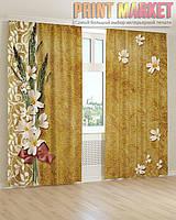 Фото шторы полевые цветы