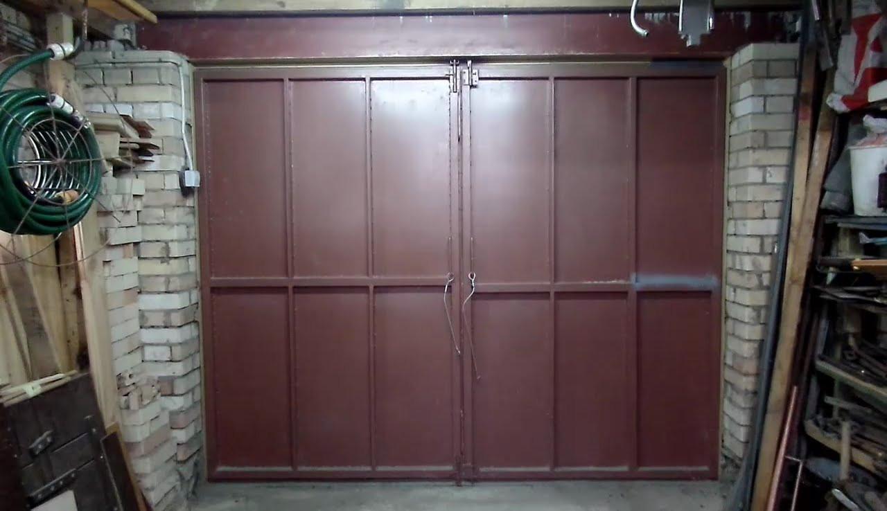 Металлическая дверь гаража куплю гараж лесосибирск