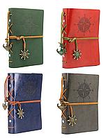 [ Блокнот Компас ретро ] Винтажный ежедневник книжка для записей