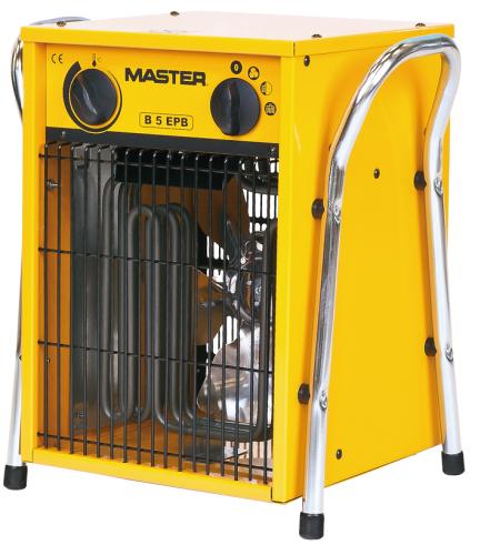 Електрична теплова гармата Master B 5 EPB / трифазна 400 В