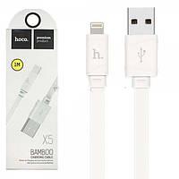 Кабель USB-LIGHTNING HOCO X5 BAMBOO iPhone (белый)