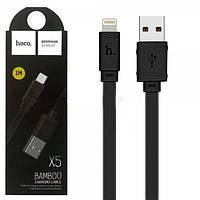 Кабель USB-LIGHTNING HOCO X5 BAMBOO iPhone (черный)