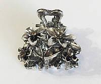 Заколка краб металл мини Букет ( упаковка)