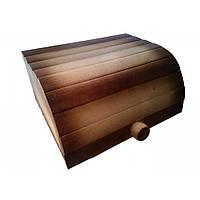 Хлебница деревянная откидная - (большая)