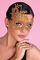 Золотая кружевная маска от Livia Corsetti (Польша) Отправка в день оплаты!