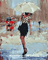 Рисование картины по цифрам Симфония дождя