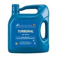 Масло моторное Aral Turboral SAE 10W-40, 5 литров