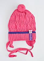Вязаная детская шапка Raster Kraina. Разные цвета
