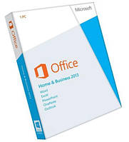 #132667 - Программное обеспечение MS Office 2013 Home and Business 32-bit/x64 Russian DVD BOX (T5D-01761)