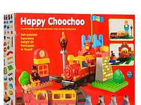 Детский конструктор M 0441 U/R/9166A Маленький паровозик, 36 дет