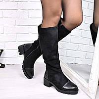Сапоги женские Toyo Зима 3808 , обувь днепр