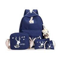 Школьный рюкзак 5 в 1 с рисунком оленя