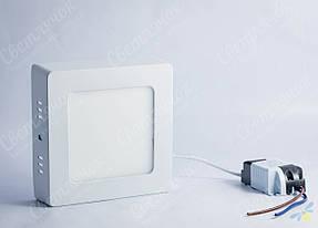 Светильник светодиодный накладной квадратный 6w Feron AL505 5000К, фото 2