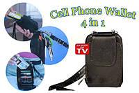 Кошелек Cell Phone Wallet 4 в 1 FN