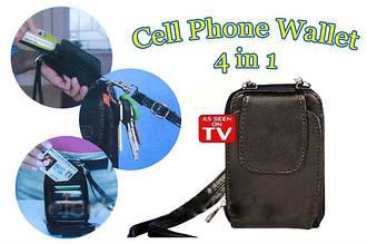 Кошелек Cell Phone Wallet 4 в 1 FN-VX