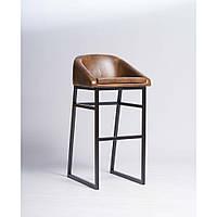 Кожанный барный стул для бара или кафе, для HoReCa