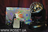 Диско - шар, MP3-player LED Beam Moving Head Lighting (светодиодный стробоскоп) 2 в 1, фото 1