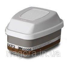 3М 6098 АХР3 Комбинированный фильтр от газов, паров, аэрозолей для полных масок серии 6000