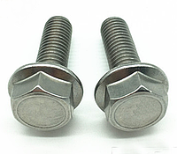 Болт с фланцем М6 DIN 6921 класс прочности 12.9, фото 1