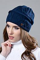 Женская шапка Жаклин на флисе