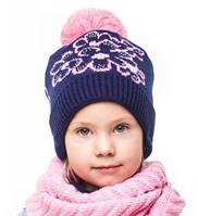 Шапка Букет детская для девочки, фото 1