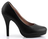 Черные женские туфли Tyhta, фото 1