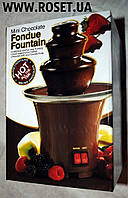 Шоколадный фонтан Фондю ― Mini Chocolate Fondue Fountain, фото 1