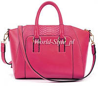 Розовая женская сумка DZHELVIRA