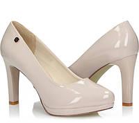 Бежевые женские туфли Ascoli-Satriano, фото 1