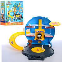 Детский игровой набор ОктонавтыHD-002, чемодан-игровая площадка, фигурки 2шт (6см и7см)