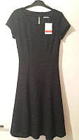 Утонченное черное платье-солнце от C&A