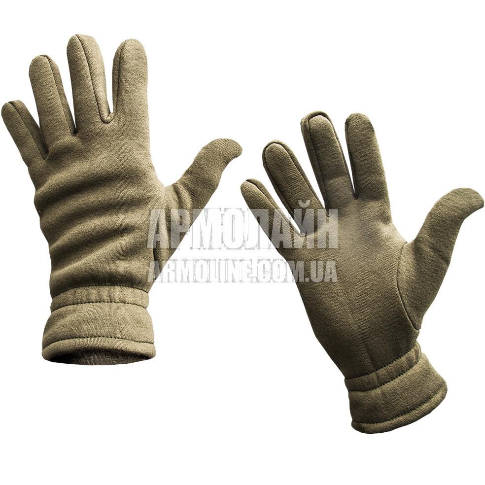 """Перчатки (рукавицы) зимние """"Трикотаж"""" Coyote"""
