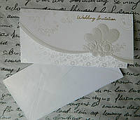 Листівка весільна - запрошення 5-26241 10,5*21 см Открытка свадебная - приглашение