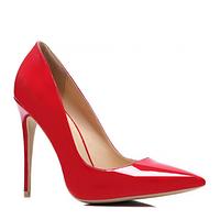 Красные женские туфли лодочки на шпильке TM Vices