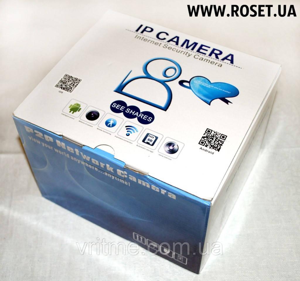 Камера видеонаблюдения с возможностью удаленного доступа - IP P2P Network Security Camera + TF-card