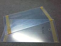 Шторки для витрины из оргстекла