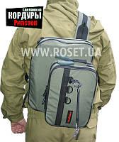 """РыбZak 10 - Рюкзак-слінг для ходової риболовлі з Кордуры з """"ріпстоп"""""""
