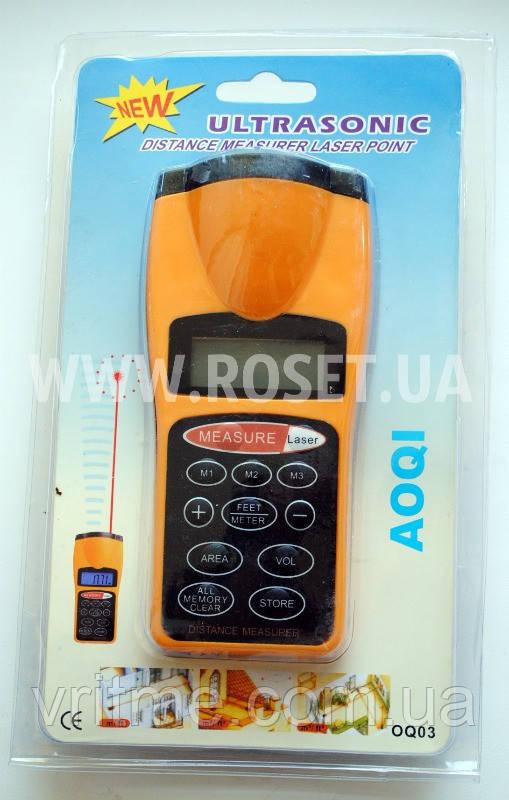 Дальномер ультразвуковой - Ultrasonic Measurer Laser Point AOQI