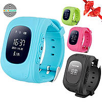 Оригинал! Умные часы Q50, Smart Baby Watch Q50 c GPS трекером