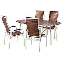 VINDALSÖ, стол+4-кровать. стульев, на открытом воздухе