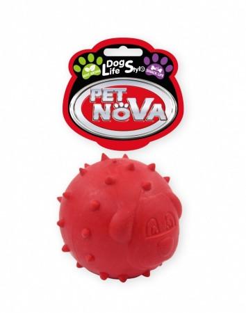 Іграшка для собак СнэкДог Pet Nova 6.5 см червоний