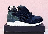 Зимние женские кроссовки Asics Gel Lyte черные