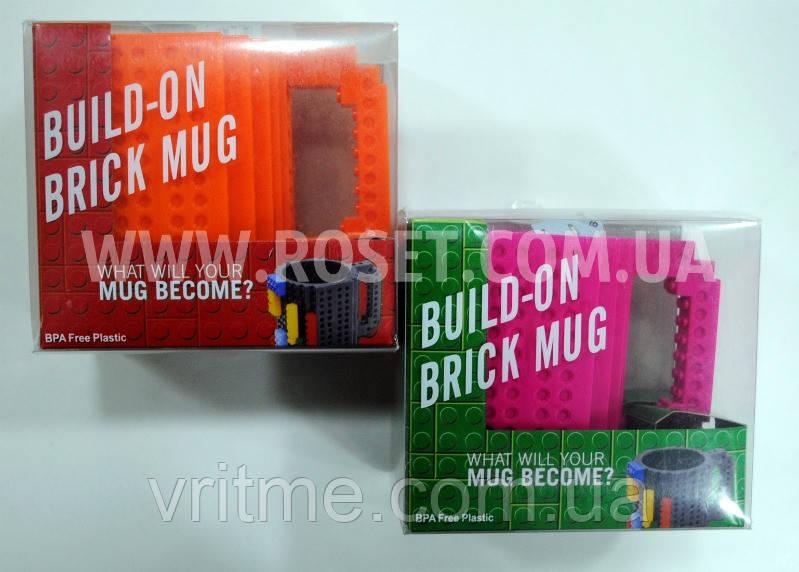 Кружка-Lego - Build-On Brick Mug 340 мл
