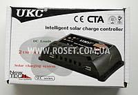 Контроллер для солнечной панели - UKC Intelligent solar charge controller SLC-20A, фото 1