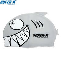 Шапочка для плавания мужская SUPER-K