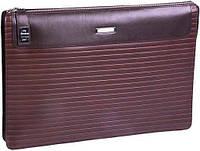 Кожаная борсетка-папка премиум класса VERUS Business V405 Brown коричневая