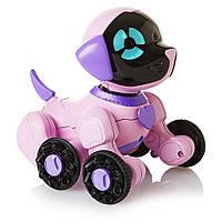 Интерактивный маленький щенок Чип розовый