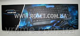 Бездротова геймерська клавіатура та миша - UKC HK-8100