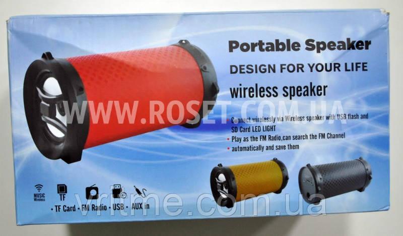 Портативная колонка - Portable Speaker + Fm radio JDA-068